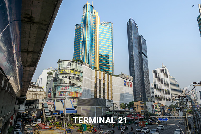 Gallery - Nantiruj Tower - Place - Terminal 21